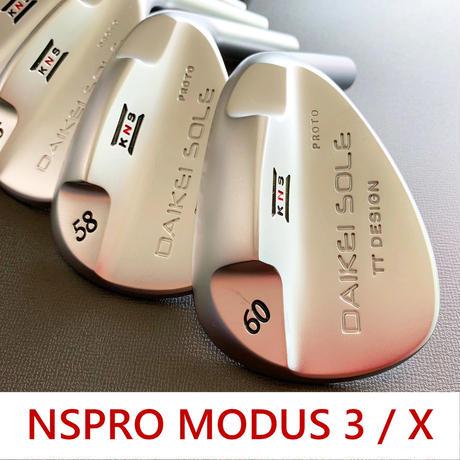 台形ソールウェッジ|NSPRO MODUS 3 / X