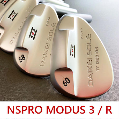台形ソールウェッジ NSPRO MODUS 3 / R