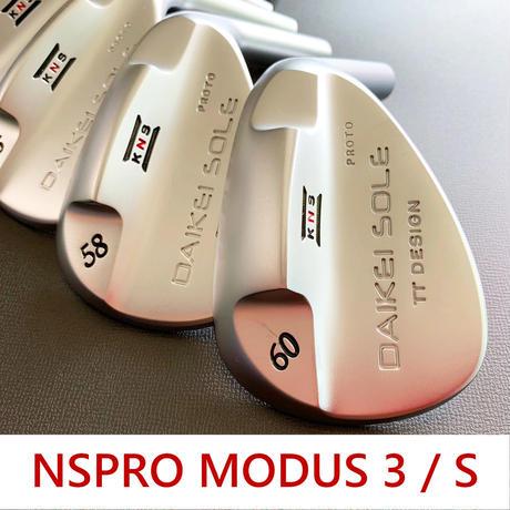 台形ソールウェッジ NSPRO MODUS 3 / S