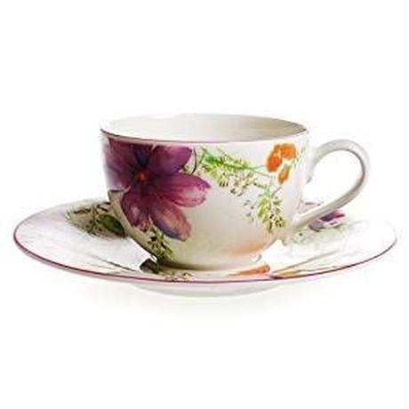 ビレロイ&ボッホ (Villeroy&Boch) マリフルール コーヒーカップ&ソーサー 250ml