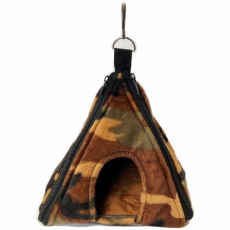 【ピラミッド型ハウス】迷彩柄 [ブラウン]