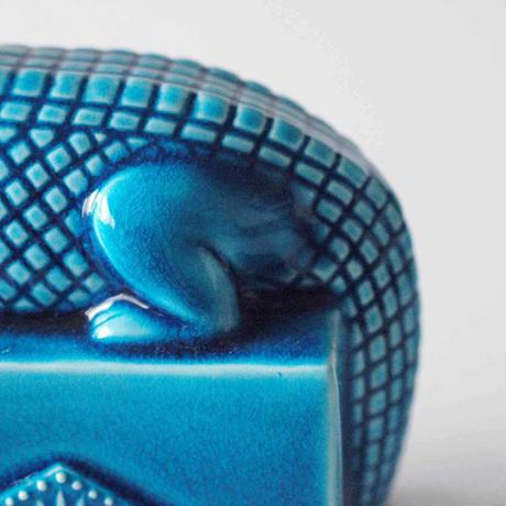 青釉オーナメント 「セベク」