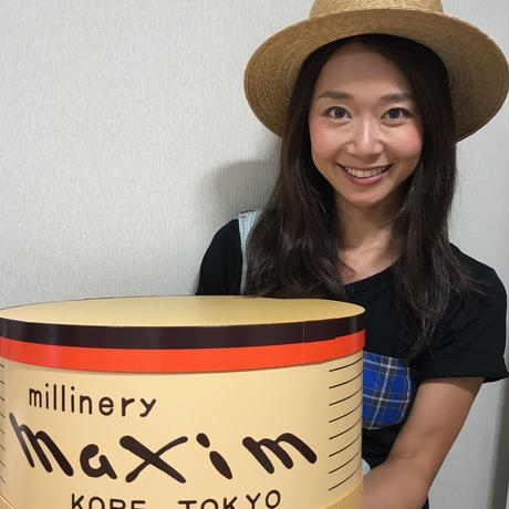 Lサイズ帽子化粧箱(プレミアムBOX)(直径36㎝/高さ19㎝)送料込