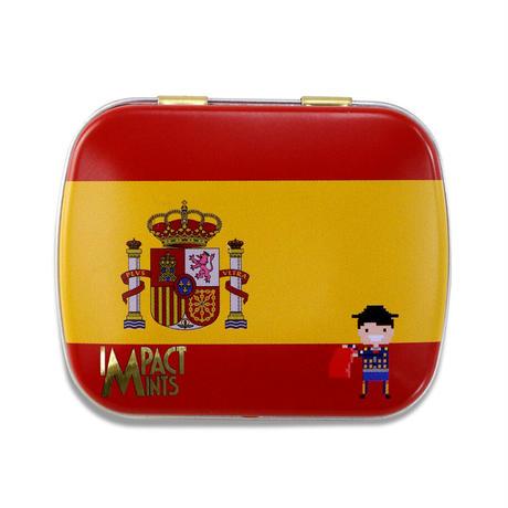 インパクトミント 国旗柄スペイン(オレンジ)