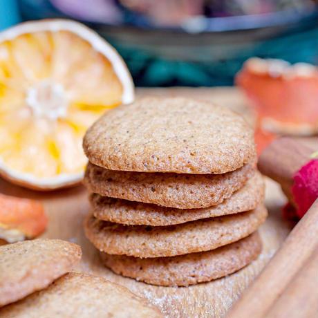メゾン・ブリュイエール  シナモンオレンジメルツ  クッキー