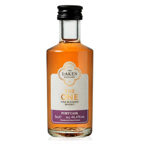 THE ONE PORT CASK FINISHED  ザ・ワン ポートカスクフィニッシュ ミニチュア 1本