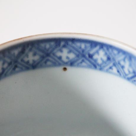 【千代久】古伊万里色絵松竹梅文半筒猪口(その2)Imari Polychrome Cup with Shochikubai Design 18th C