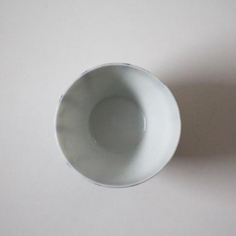 【千代久】染付螺旋文猪口(その3)Blue and White Cup with Spiral Pattern 19thー20th C