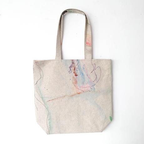 橋村至星「手描きトートバッグ」
