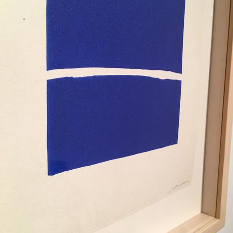 根本篤志「park」リトグラフ エディション 1/2 31×39.5cm
