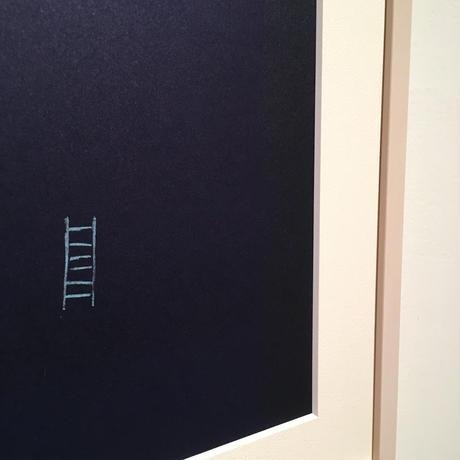 根本篤志「会いに行く」 リトグラフ エディション  1/5 32.5×23.5cm 2019 (額代込)