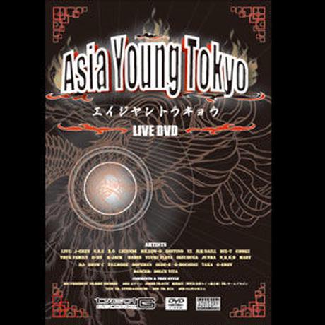"VRIOUS ARTISTS DVD""Asia Young Tokyo (エイジヤントウキョウ) "" JAPANESE RAP/ジャパニーズラップ 日本語ラップ HIP HOP/ヒップホップ"