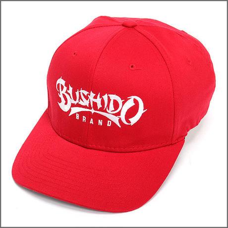 BUSHIDO BRAND FITED CAP TYPE1 RED