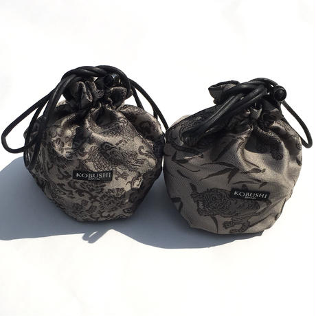 PREMIUM KINCHAKU POUCH/プレミアム 巾着袋  龍虎/KOBUSHI BRAND/コブシブランド(全2種)
