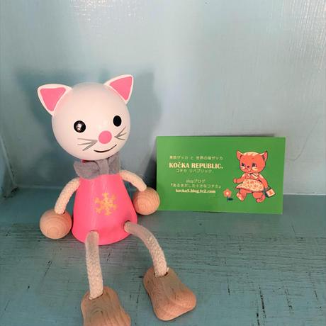 チェコ レスニー人形 猫 おさる