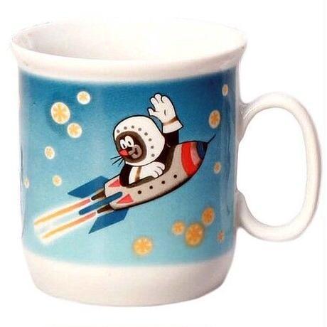 チェコ製 クルテク マグカップ ロケット 宇宙