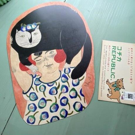 moritaMiW 『愛しのチェニ』 黒猫 ポストカード