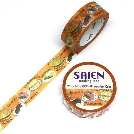東欧 オーストリア ドイツ パン お菓子 マスキングテープ