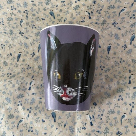 France ナタリーレテ 黒猫 コップ