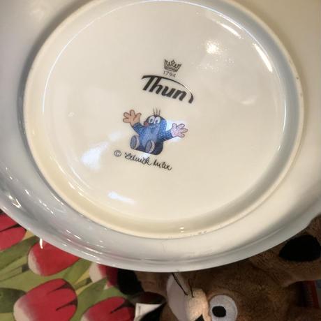 クルテク ガーデニング柄 洋皿 カレー パスタプレート