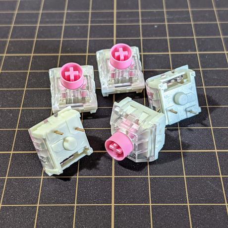 Kailh Box Silent ピンク軸 5個 / Pink 5pcs