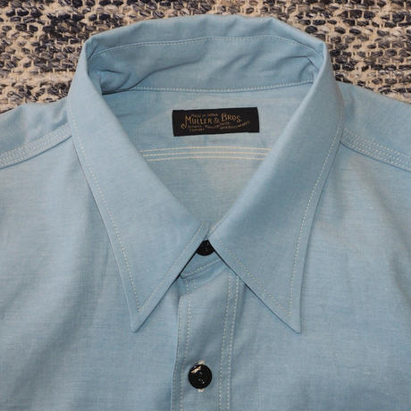 MULLER & BROS. / work shirts S/S