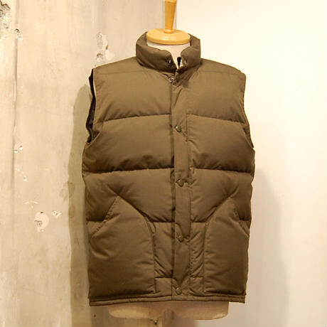 【予約商品】ZANTER JAPAN / #6712 DOWN VEST