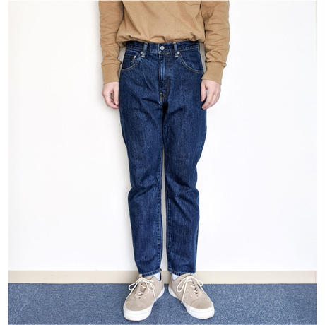 HATSKI / Regular Tapered Denim (BLUE)