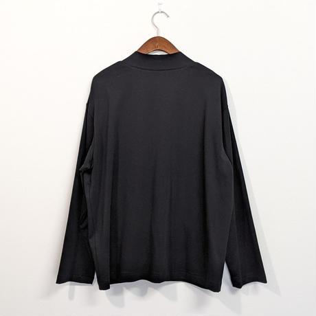 LA MOND / SUVIN COTTON CARDIGAN (BLACK)