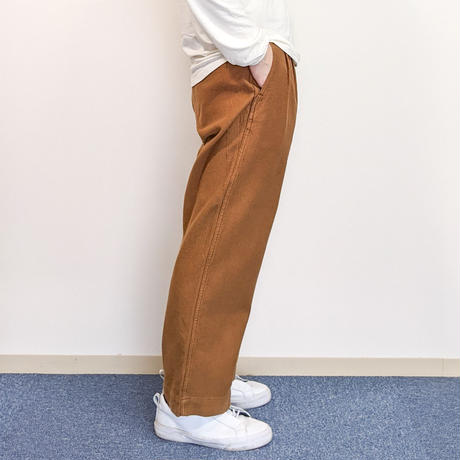 HATSKI / Uncut 2Tuck Wide Trousers 《 2 color 》