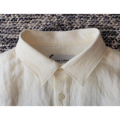 FEW FABRICS / SWEDISH NATURAL DYED LINEN SHIRT