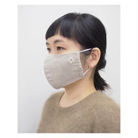 HARIO Lampwork Factory / ガラスアクセサリーのついた手づくりマスク 《 2 color 》