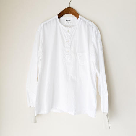 H.UNIT / Broadcloth sleeping rib shirt