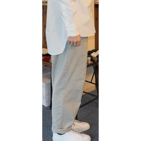 H.UNIT / Cord stripe easy cook pants