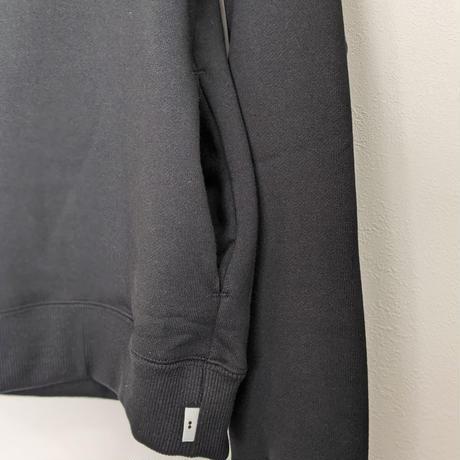 """ämne / ZIP """"ä"""" hoodie  (Black)"""