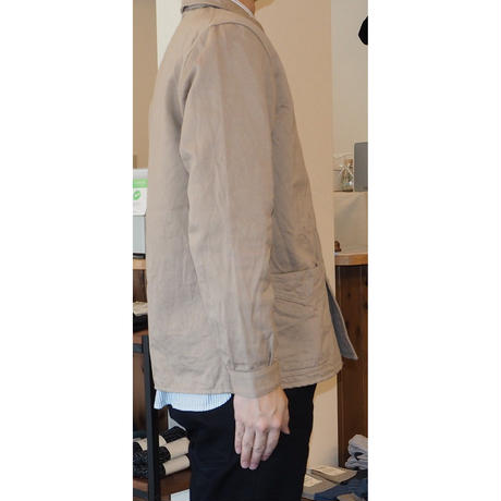 MULLER & BROS. / french work jacket (cotton/linen)