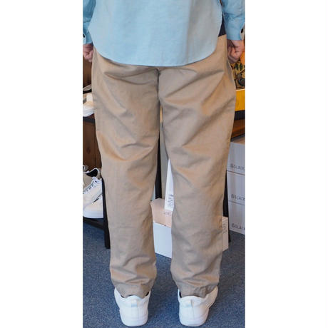 MULLER & BROS. / french work pants (cotton/linen)