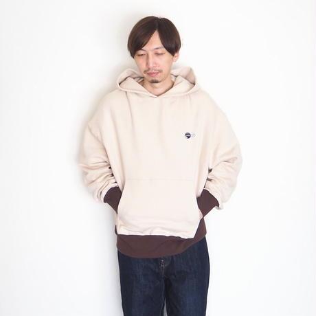 H.UNIT / Raised back hoodie