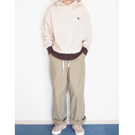 H.UNIT / Backsatin crownsize baker pants