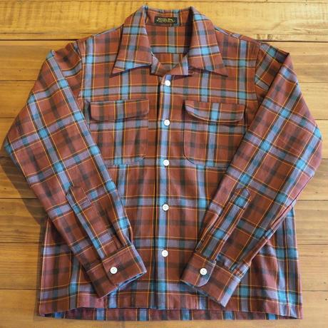MULLER & BROS. / open collar shirts (cotton/wool)