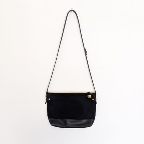 THE SUPERIOR LABOR / leather bottom shoulder bag L