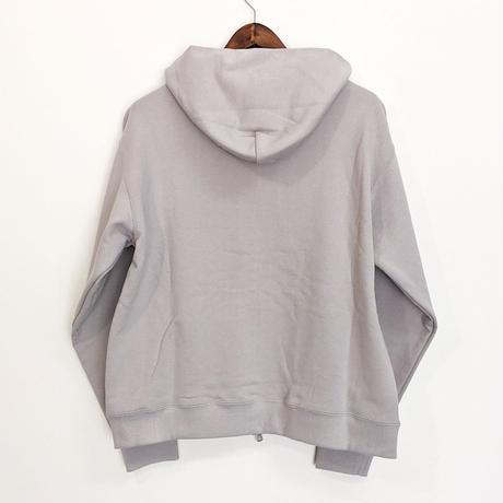 """ämne / ZIP """"ä"""" hoodie  (Silver)"""