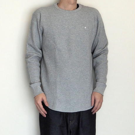 HOSU.ATPD / One Star Embroidery Thermal L/S Tee