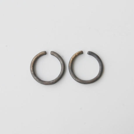 THIS SIDE BLACK  Earrings S Bronze