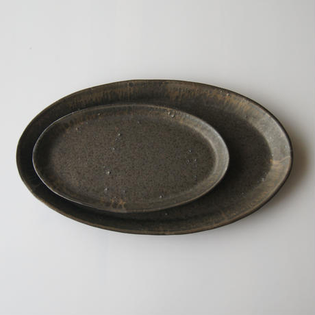 FOR SUCH A TIME Oval Plate 31cm