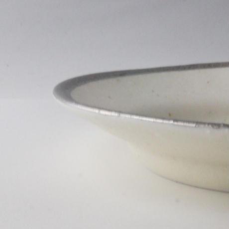 MY DISH Round Plate Platinum 24cm