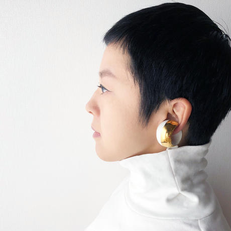 LIKE A BALLOON  Earring Gold