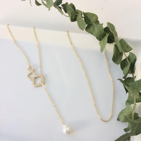 sikaku long necklace