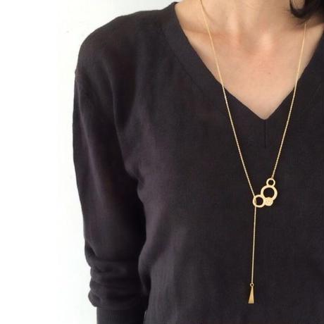 manmaru long necklace