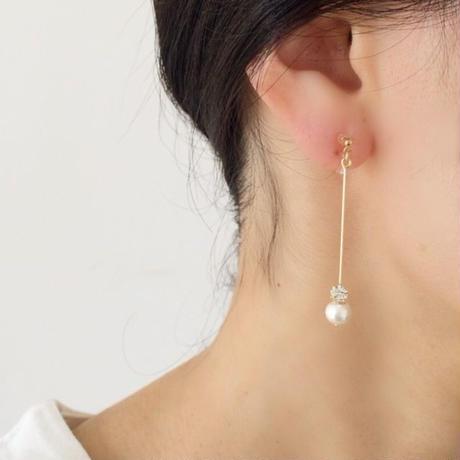 yukidaruma  pierce/earring